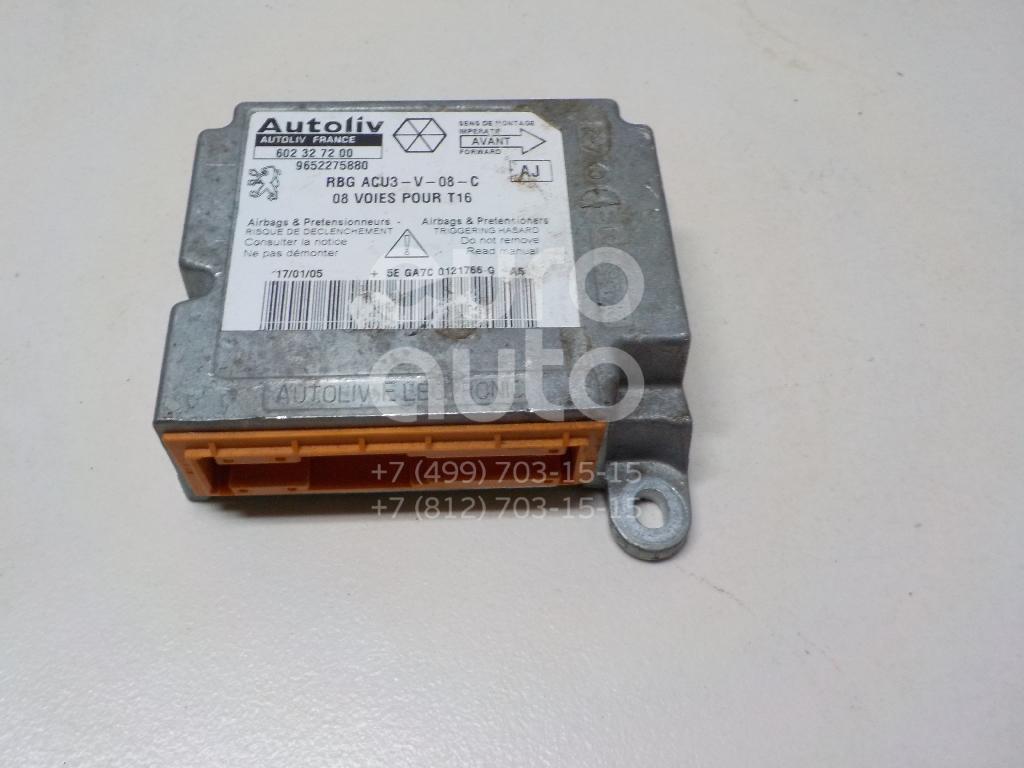 Купить Блок управления AIR BAG Peugeot 206 1998-2012; (6545GS)