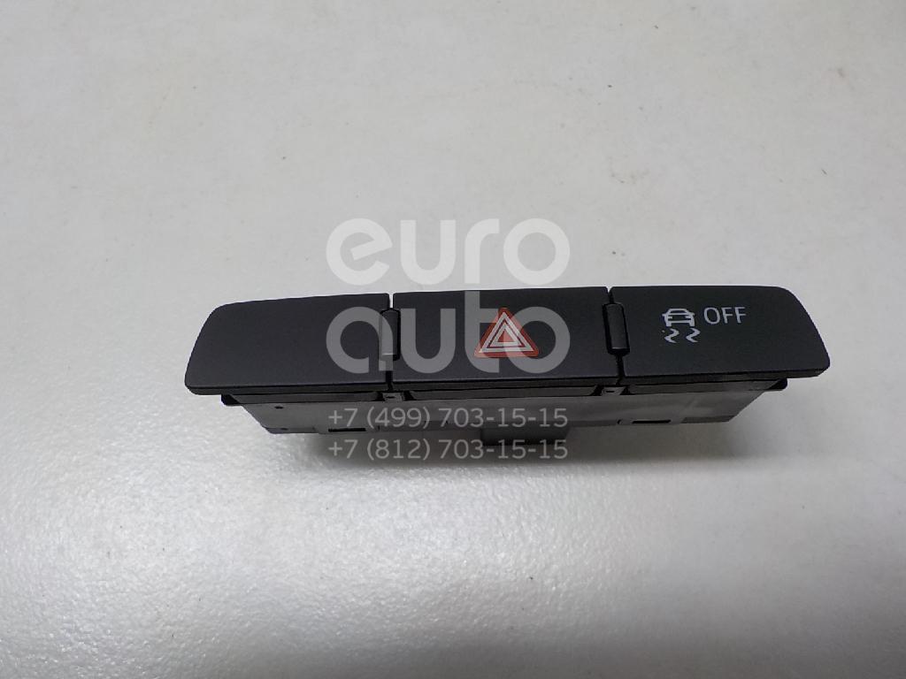 Купить Кнопка аварийной сигнализации Audi Q7 [4L] 2005-2015; (4L2927137B5PR)