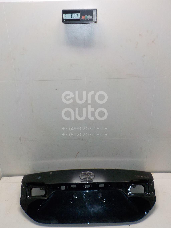 Купить Крышка багажника Toyota Corolla E18 2013-; (6440102A41)