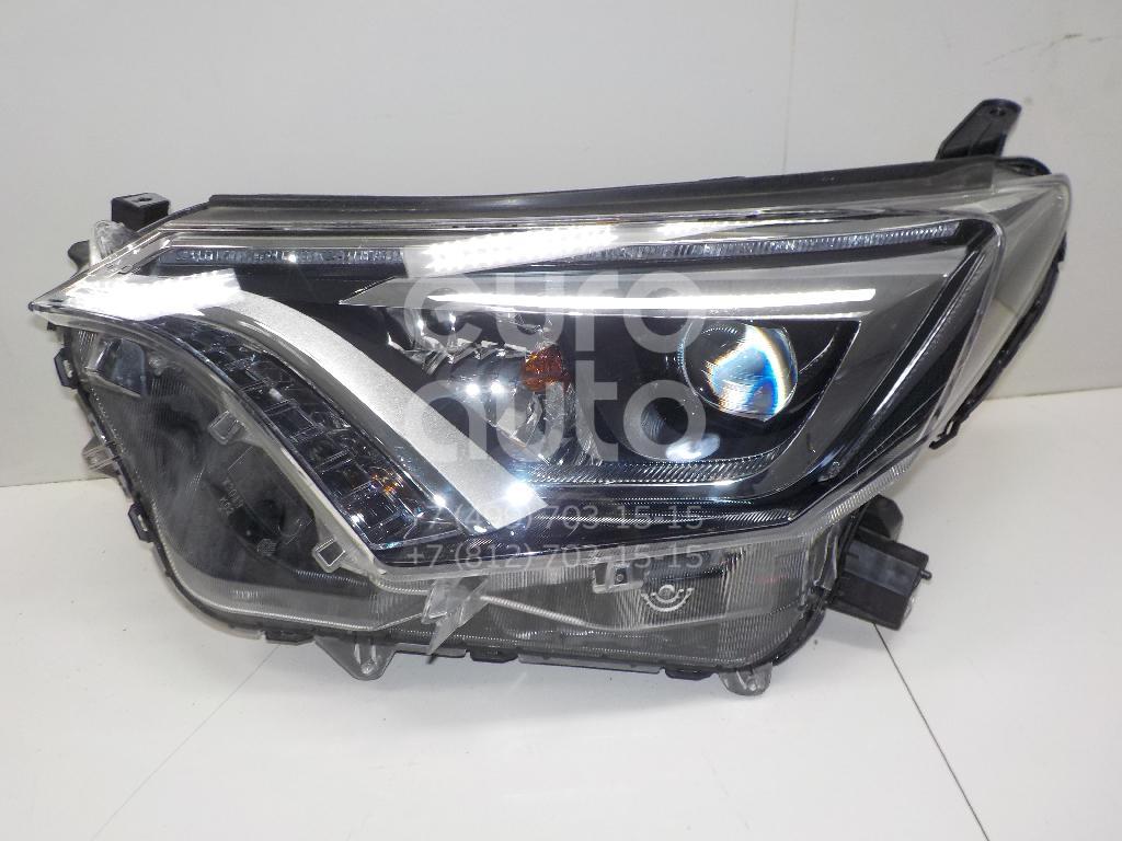 Купить Фара левая Toyota RAV 4 2013-; (8118542680)