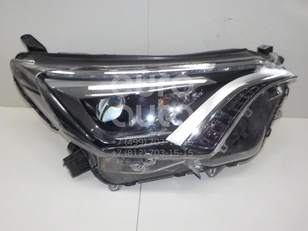Купить Фара правая Toyota RAV 4 2013-; (8114542680)