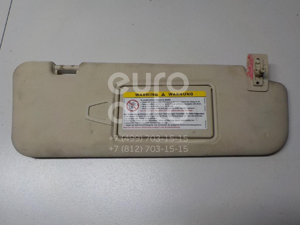 Купить Козырек солнцезащитный (внутри) Mercedes Benz W219 CLS 2004-2010; (21981002108L78)