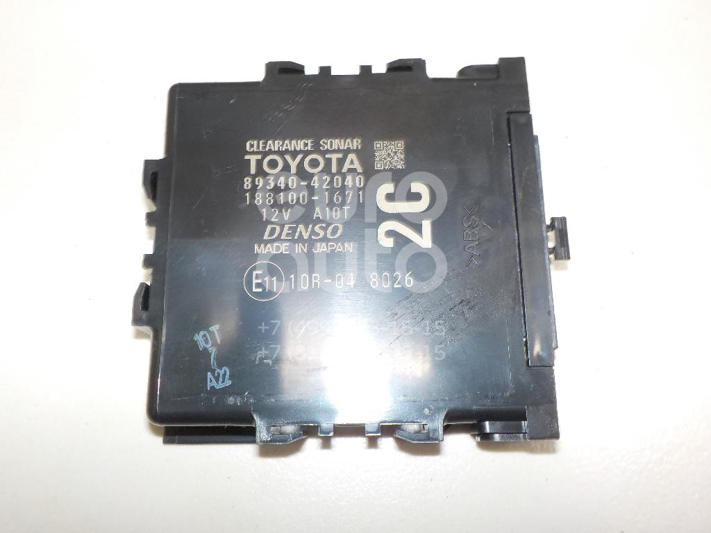 Купить Блок управления парктроником Toyota RAV 4 2013-; (8934042040)