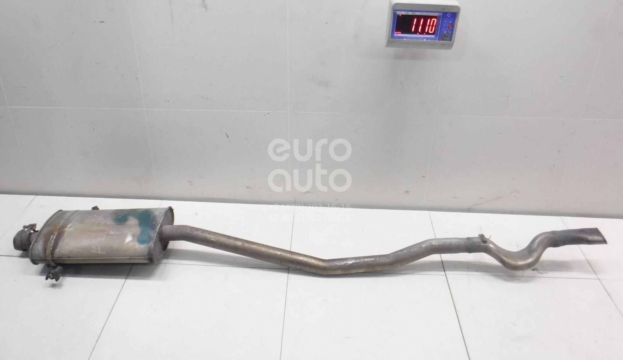 Купить Глушитель основной Mercedes Benz W245 B-klasse 2005-2011; (1694901222)