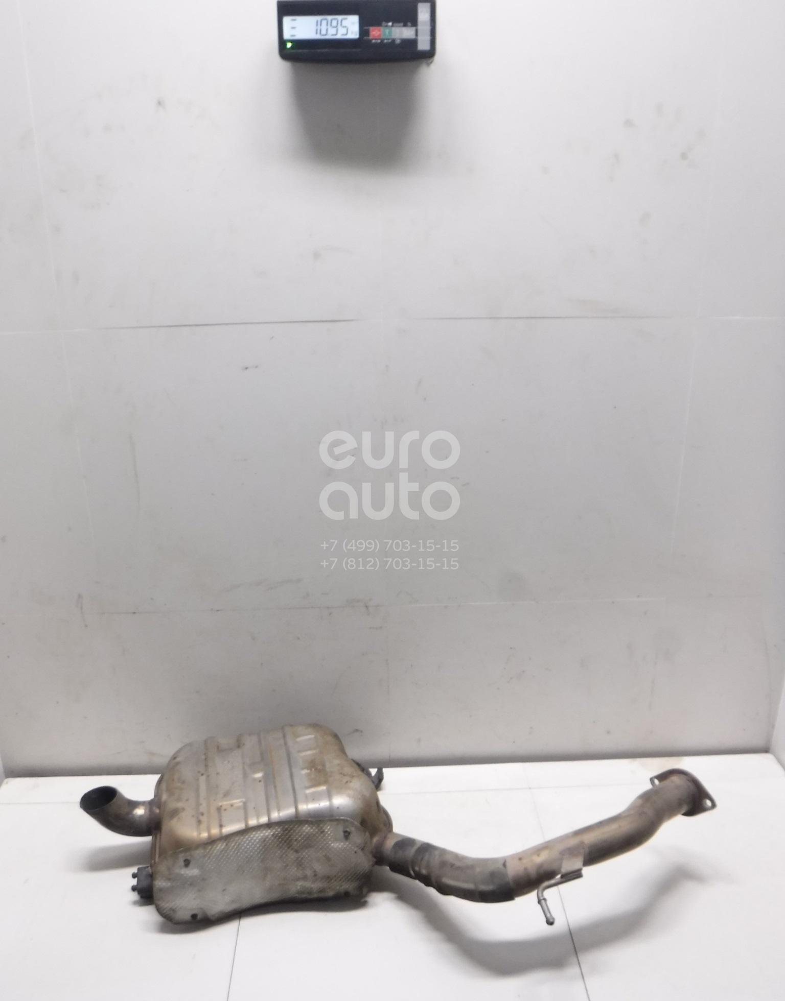 Глушитель основной Kia Sorento Prime 2015-; (28710C5110)  - купить со скидкой