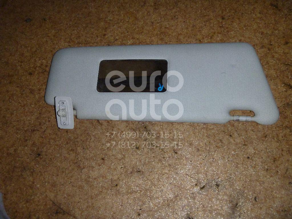 Козырек солнцезащитный (внутри) для Mercedes Benz W202 1993-2000 - Фото №1