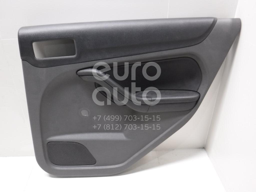 Обшивка двери задней правой для Ford Focus II 2005-2008 - Фото №1