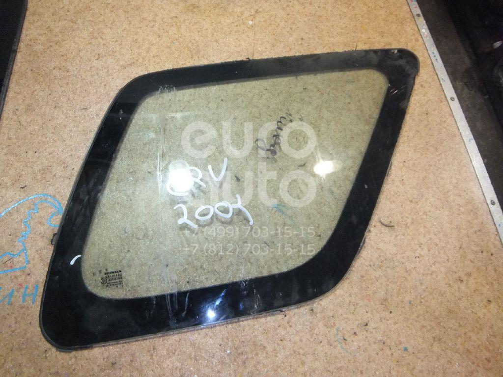 Стекло кузовное глухое правое для Honda CR-V 2002-2006 - Фото №1