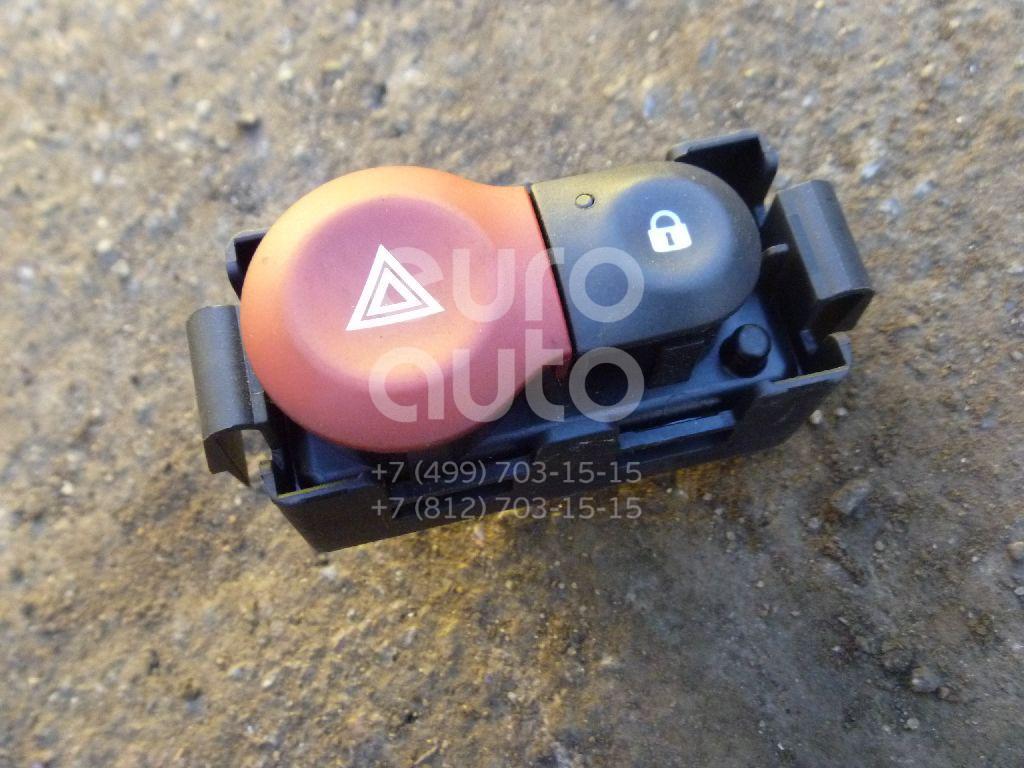 Кнопка аварийной сигнализации для Renault Modus 2004-2012;Clio III 2005-2012 - Фото №1