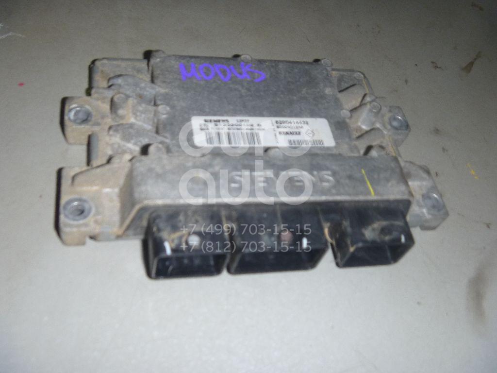 Блок управления двигателем для Renault Modus 2004-2012 - Фото №1