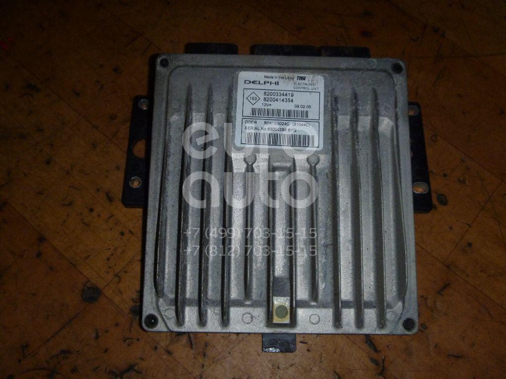 Блок управления двигателем для Renault,Nissan Scenic 2003-2009;Megane II 2002-2009;Micra (K12E) 2002-2010 - Фото №1
