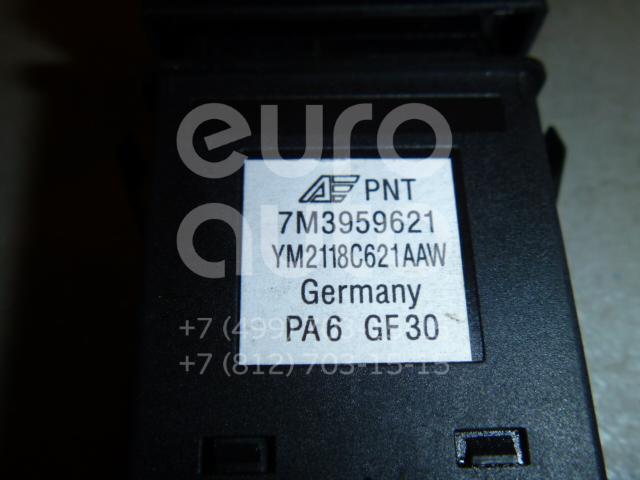 Кнопка обогрева заднего стекла для Seat,VW Alhambra 2000-2010;Sharan 2000-2004;Sharan 2004-2010 - Фото №1
