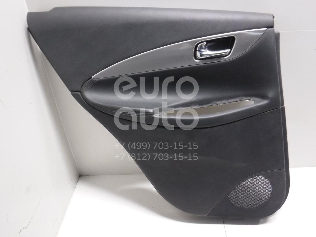 Обшивка двери задней левой для Infiniti EX/QX50 (J50) 2008-2014 - Фото №1