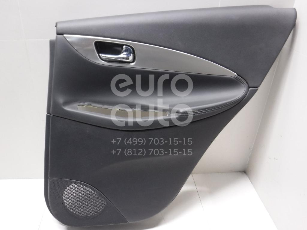 Обшивка двери задней правой для Infiniti EX/QX50 (J50) 2008> - Фото №1