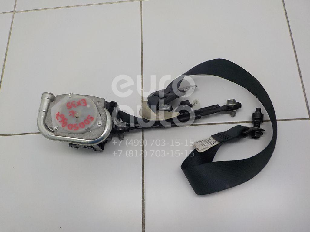 Ремень безопасности с пиропатроном для Infiniti EX/QX50 (J50) 2008-2014 - Фото №1