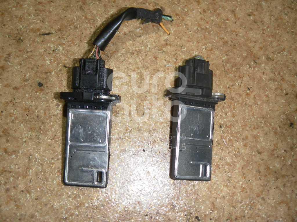 Расходомер воздуха (массметр) для Infiniti,Nissan EX/QX50 (J50) 2008>;Patrol (Y61) 1997-2009;Murano (Z50) 2004-2008;Pathfinder (R51) 2005-2014;Almera Classic (B10) 2006-2013;Teana J31 2006-2008;Note (E11) 2006-2013;Primera P12E 2002-2007 - Фото №1