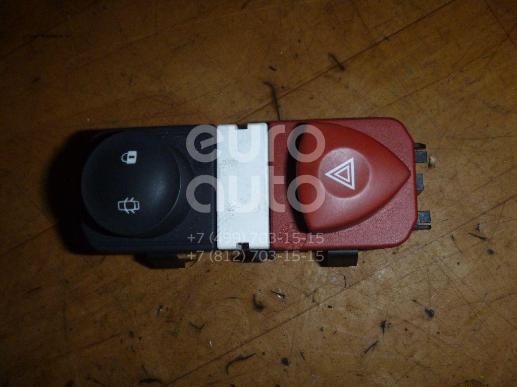 Кнопка аварийной сигнализации для Renault Scenic 2003-2009;Megane II 2002-2009 - Фото №1