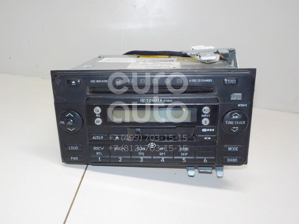 Магнитола для Toyota Camry CV3 2001-2006 - Фото №1