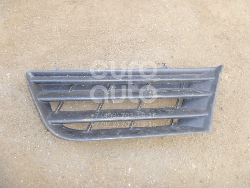 Решетка радиатора правая для Renault Modus 2004-2012 - Фото №1