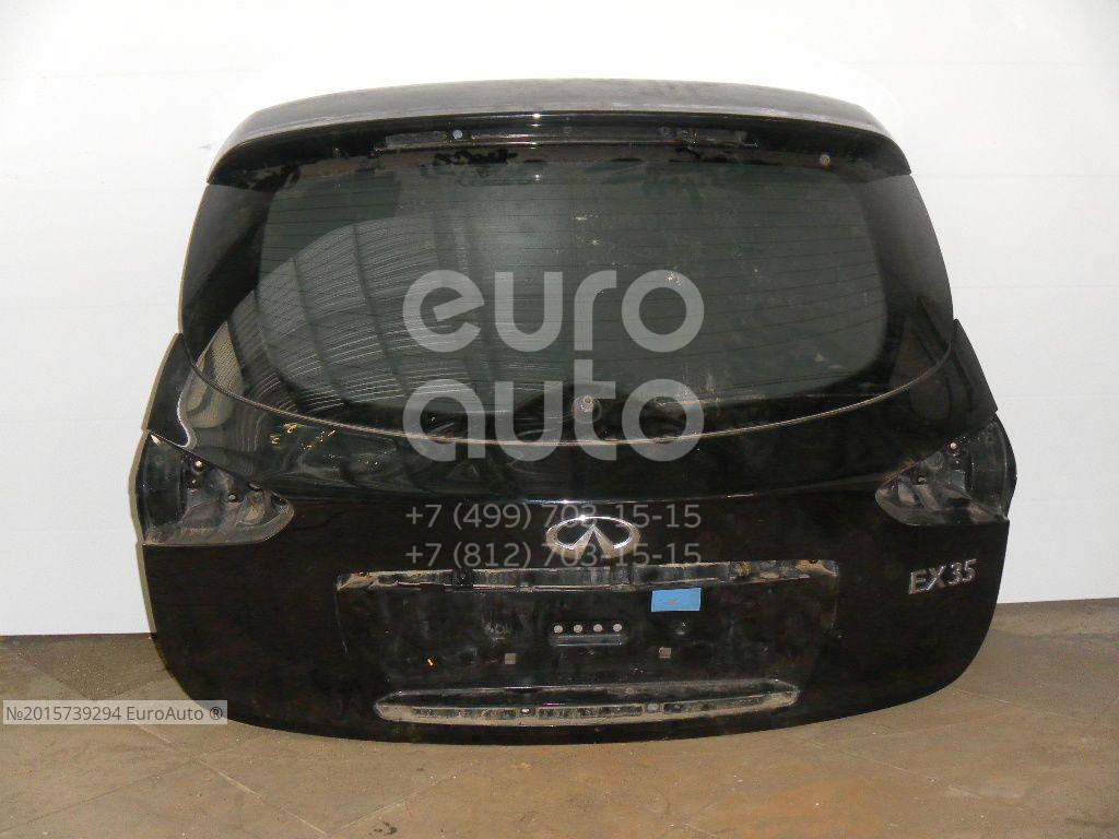 Дверь багажника со стеклом для Infiniti EX/QX50 (J50) 2008-2014 - Фото №1
