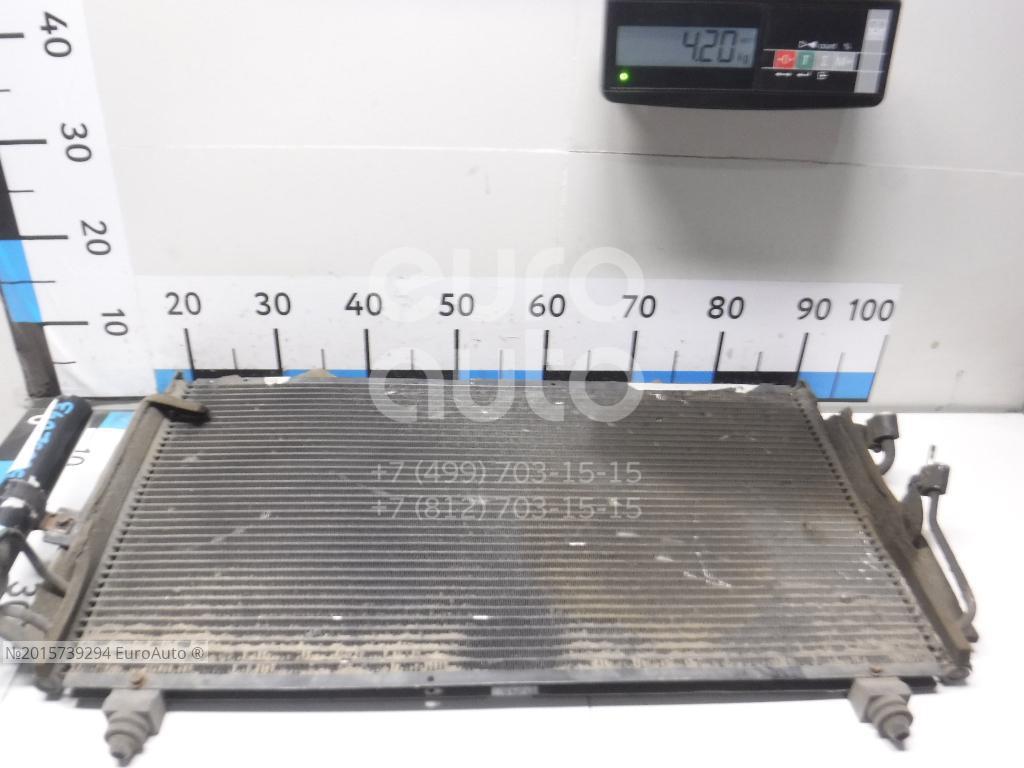 Радиатор кондиционера (конденсер) для Mitsubishi Outlander (CU) 2003-2009 - Фото №1