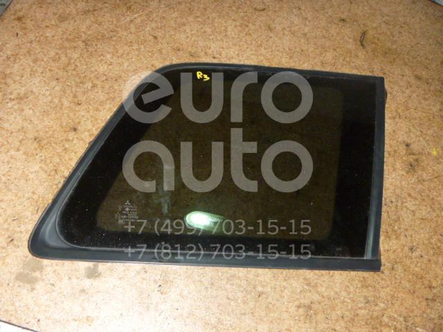 Стекло кузовное глухое правое для Mitsubishi Outlander (CU) 2003-2008 - Фото №1