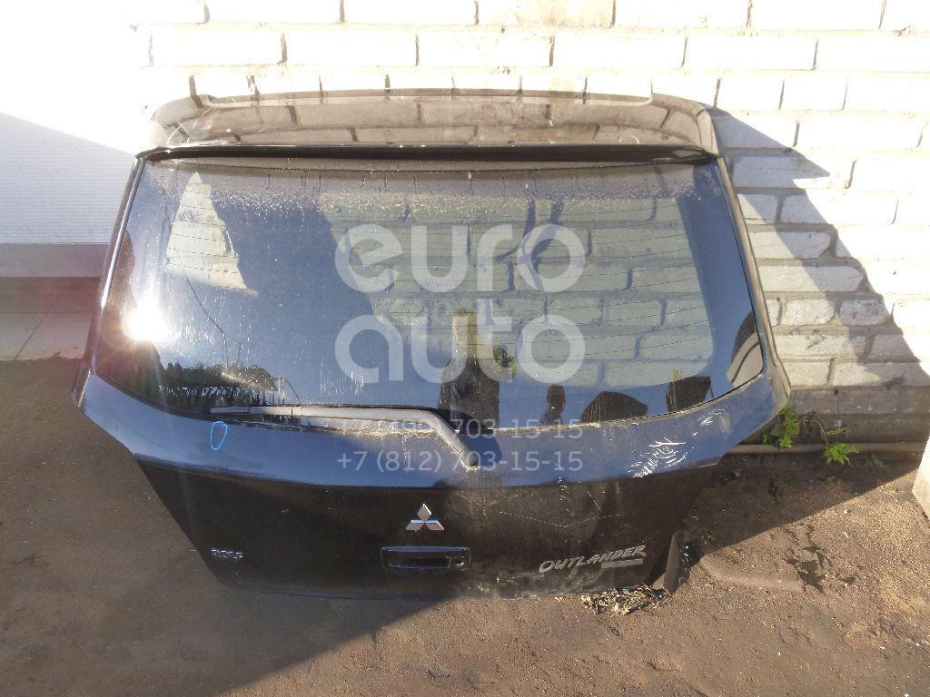 Дверь багажника со стеклом для Mitsubishi Outlander (CU) 2001-2008 - Фото №1