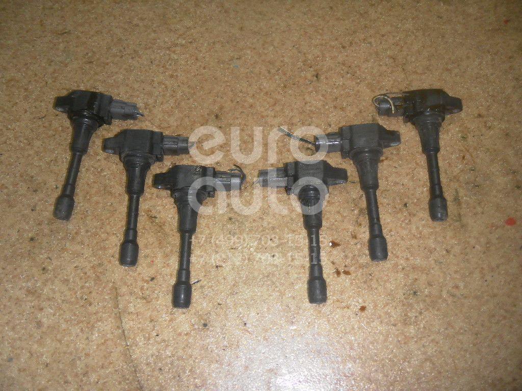Катушка зажигания для Infiniti,Nissan EX/QX50 (J50) 2008-2014;Note (E11) 2006-2013;X-Trail (T30) 2001-2006;Qashqai (J10) 2006-2014;X-Trail (T31) 2007-2014;M (Y50) 2004-2009;Tiida (C11) 2007-2014;Teana J32 2008-2013;FX/QX70 (S51) 2008> - Фото №1
