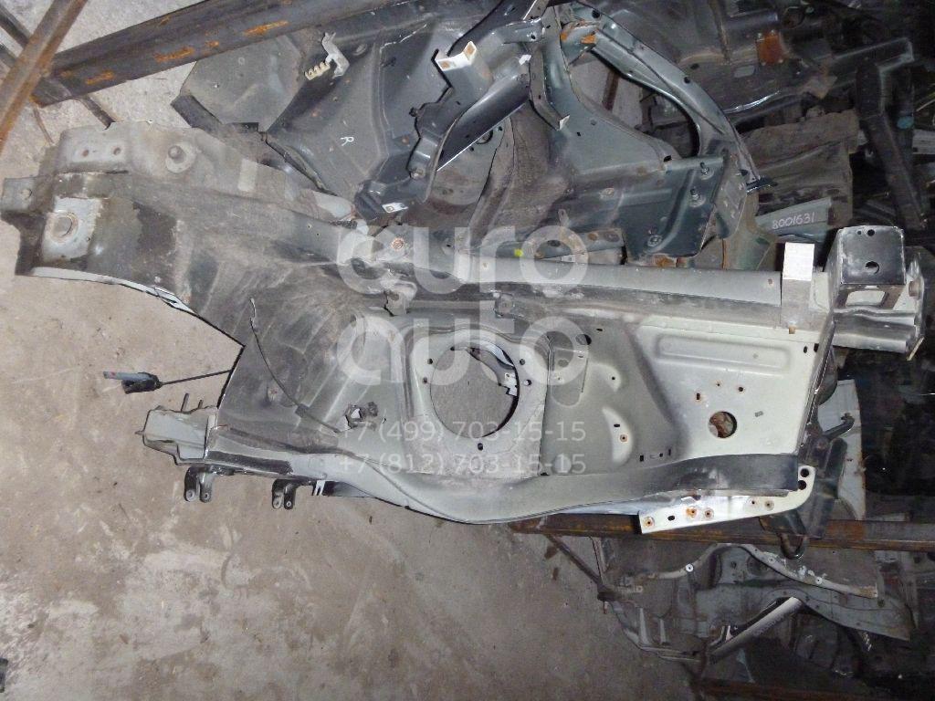 Лонжерон передний левый для Peugeot 407 2004-2010 - Фото №1