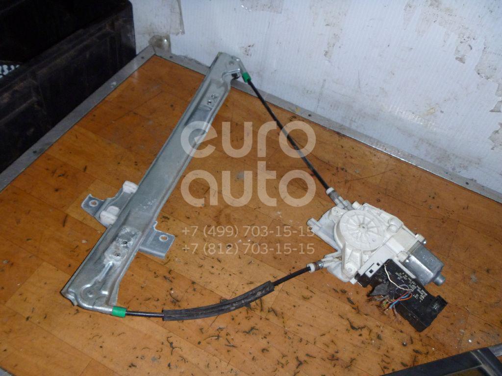 Стеклоподъемник электр. передний левый для Peugeot 407 2004-2010 - Фото №1