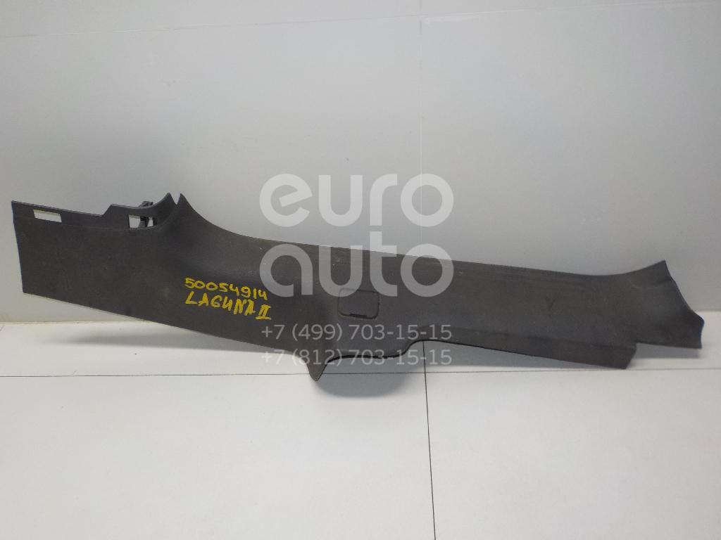 Накладка порога (внутренняя) для Renault Laguna II 2001-2008 - Фото №1