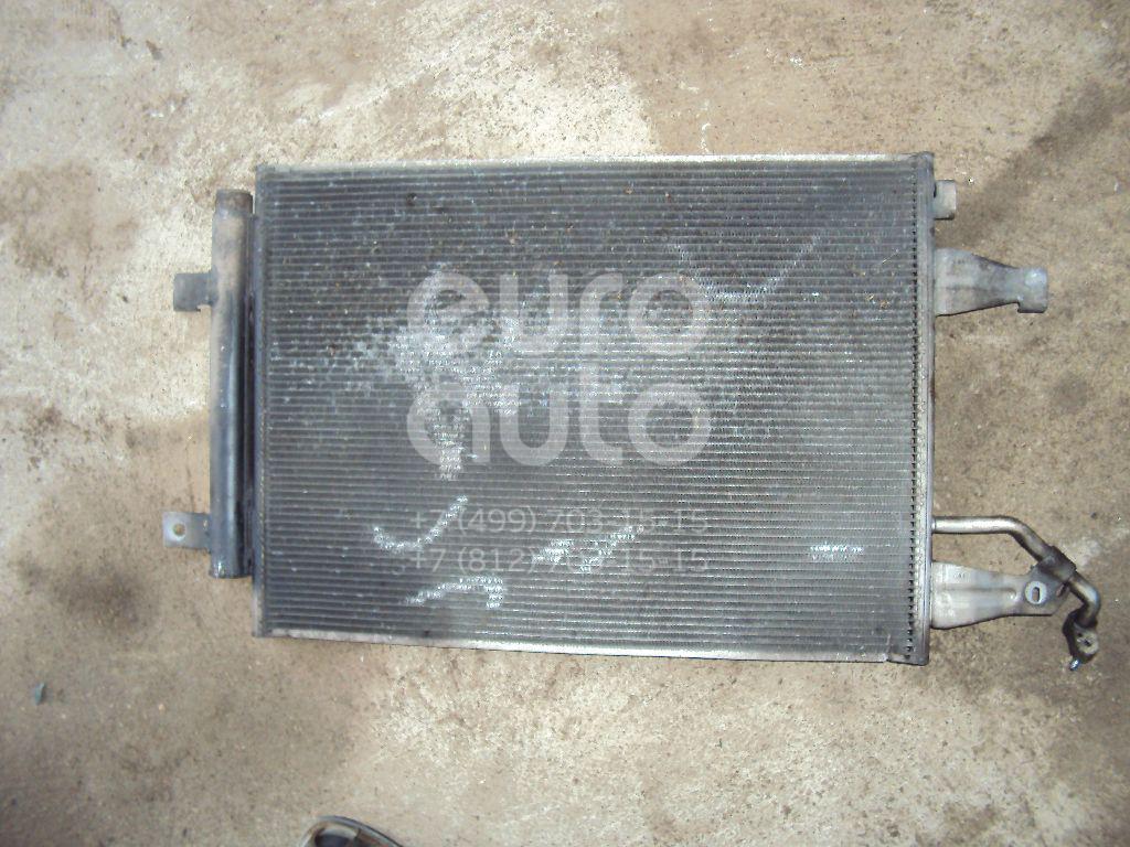 Радиатор кондиционера (конденсер) для Mitsubishi Colt (Z3) 2004-2012 - Фото №1