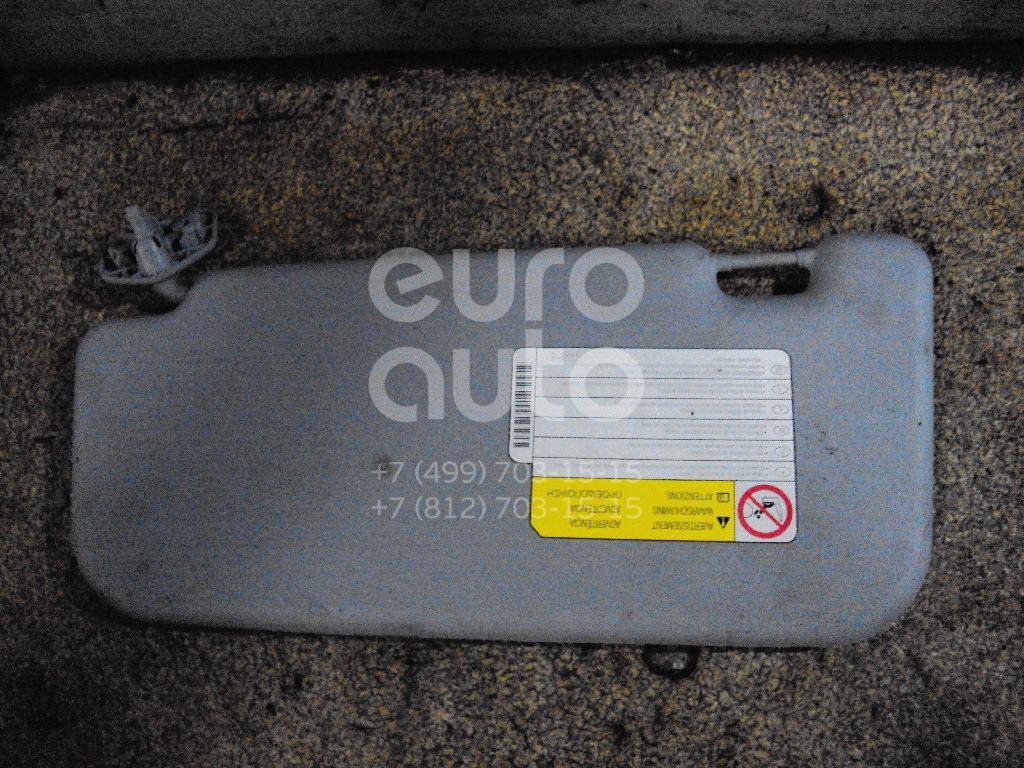 Козырек солнцезащитный (внутри) для Mitsubishi Colt (Z3) 2003-2012 - Фото №1