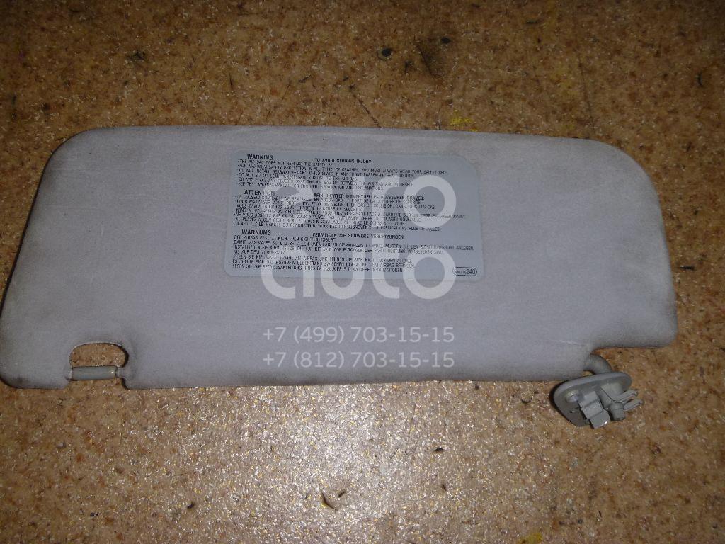 Козырек солнцезащитный (внутри) для Mitsubishi Space Wagon (N8,N9) 1998-2004 - Фото №1