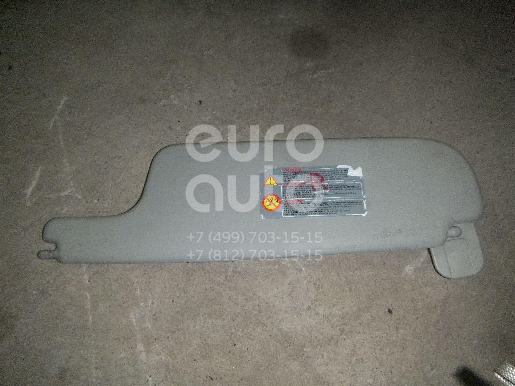 Козырек солнцезащитный (внутри) для Renault Laguna II 2001-2008 - Фото №1