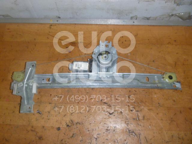 Стеклоподъемник электр. передний левый для Peugeot 207 2006-2013 - Фото №1
