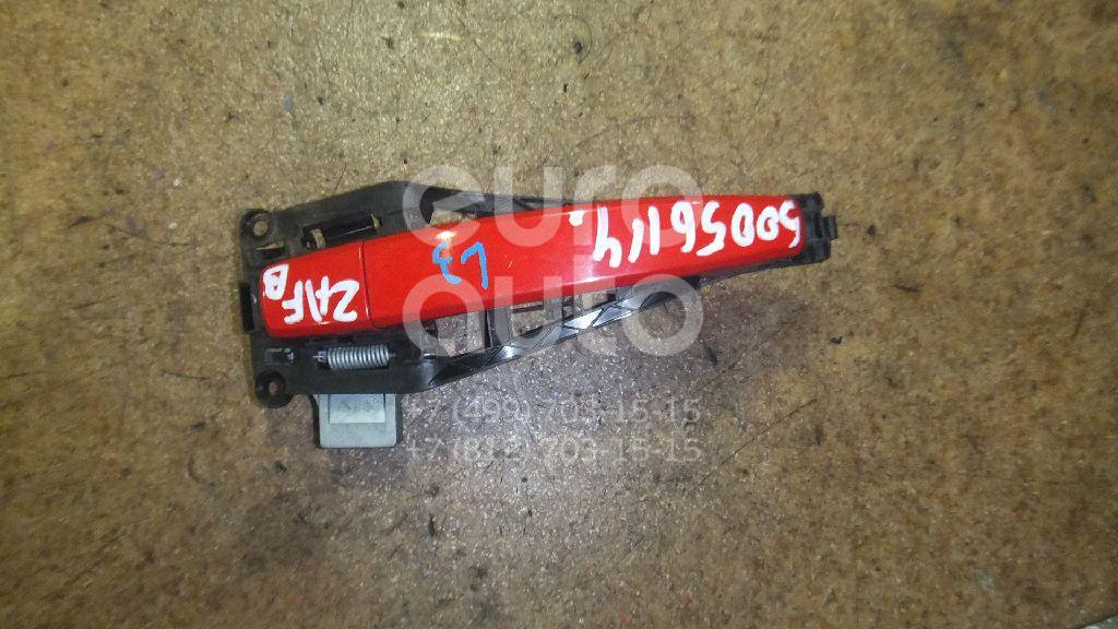 Ручка двери наружная для Opel Zafira B 2005-2012;Astra H / Family 2004-2015;Tigra TwinTop 2004-2009 - Фото №1