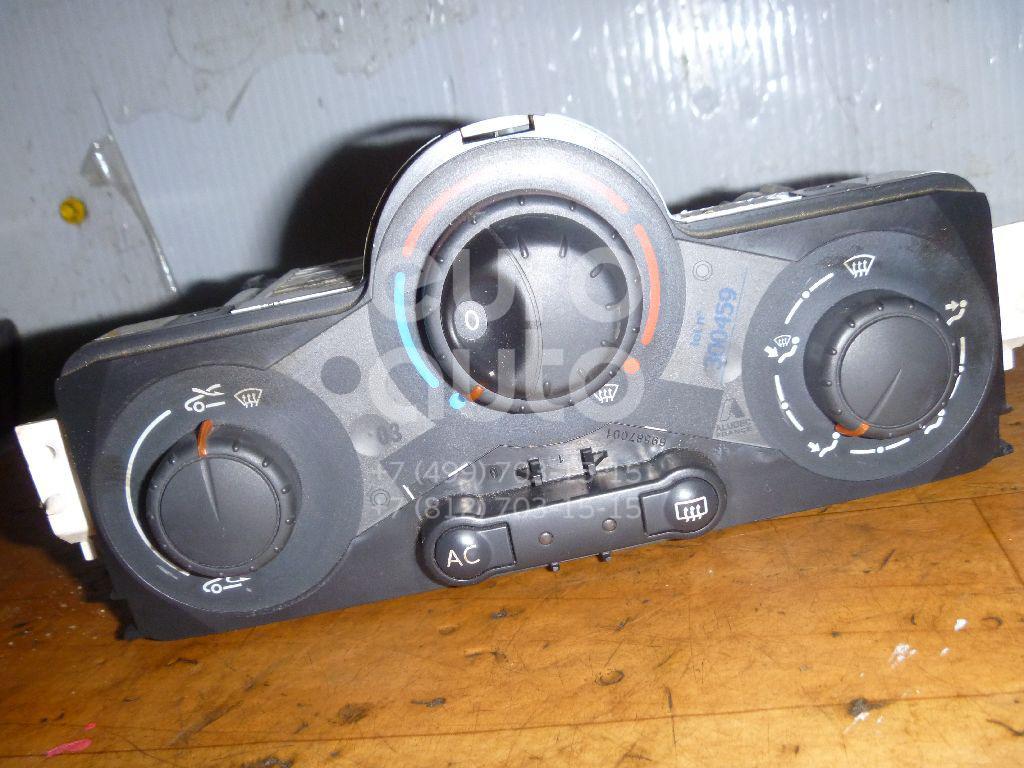 Блок управления отопителем для Renault Scenic II 2003-2009 - Фото №1