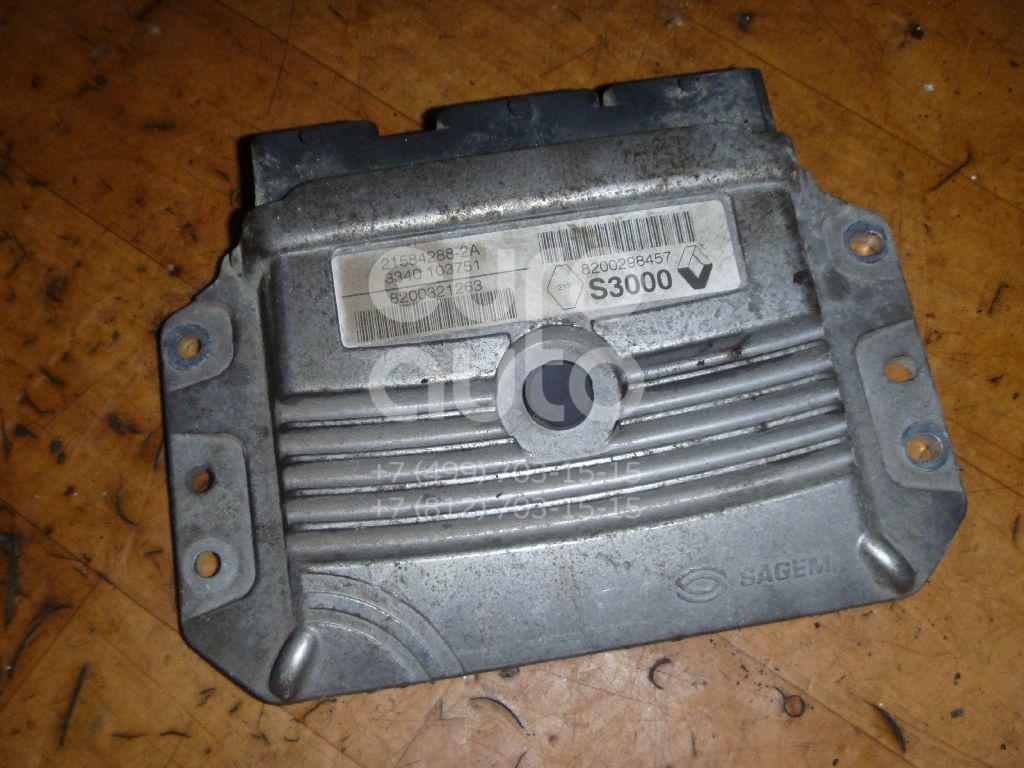 Блок управления двигателем для Renault Scenic 2003-2009;Megane II 2002-2009 - Фото №1