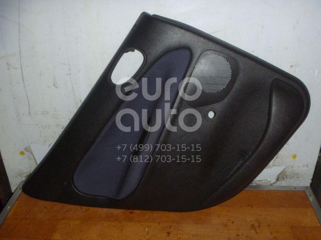 Обшивка двери задней левой для Peugeot 206 1998-2012 - Фото №1