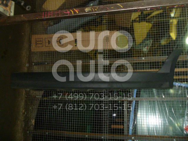 Накладка на порог (наружная) для BMW X3 E83 2004-2010 - Фото №1