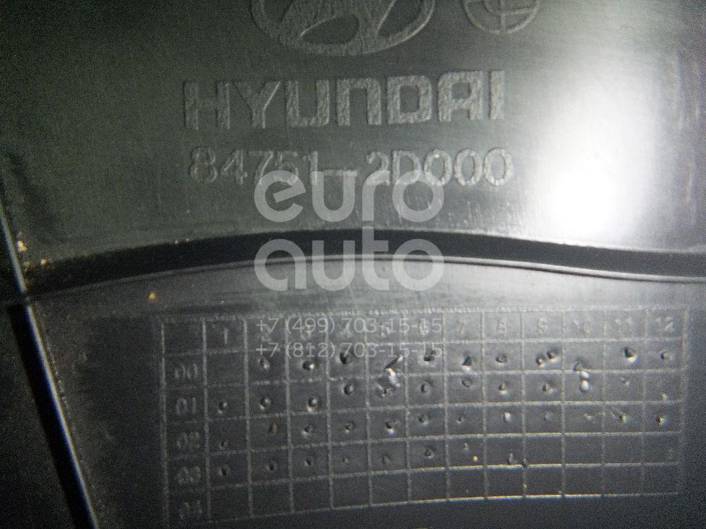 Накладка (кузов внутри) для Hyundai Elantra 2000-2006 - Фото №1