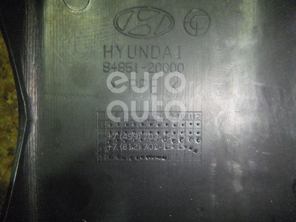 Кожух рулевой колонки верхний для Hyundai Elantra 2000-2005 - Фото №1