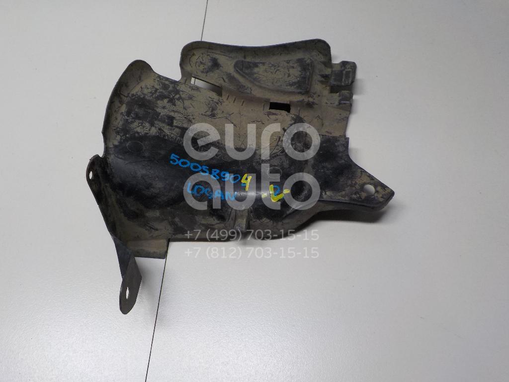 Пыльник двигателя боковой левый для Nissan Logan 2005-2014;Sandero 2009-2014;Almera (G15) 2013> - Фото №1