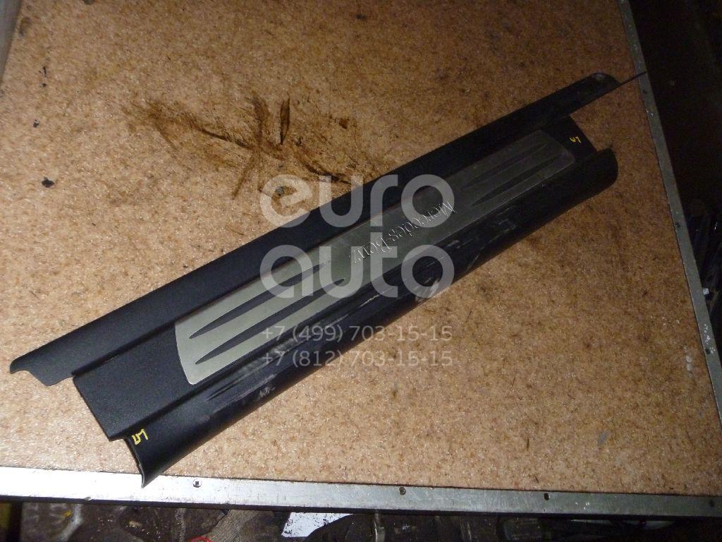 Накладка порога (внутренняя) для Mercedes Benz R171 SLK 2004-2011 - Фото №1