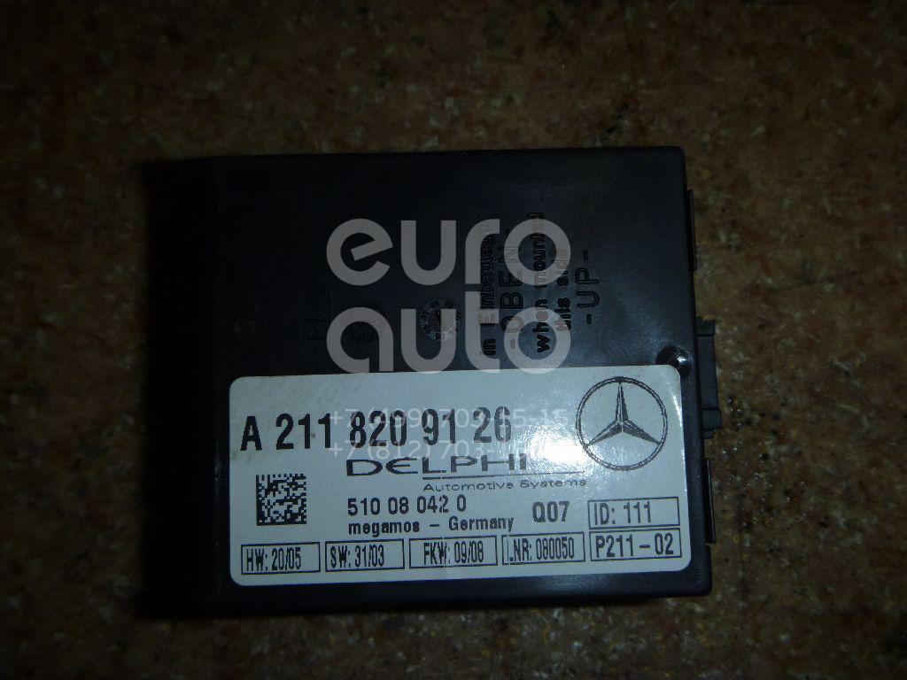 Блок электронный для Mercedes Benz R171 SLK 2004-2011;W140 1991-1999;W220 1998-2005;W210 E-Klasse 1995-2000;G-Class W463 1989>;W215 coupe 1999-2006;W203 2000-2006;W219 CLS 2004-2010;W211 E-Klasse 2002-2009 - Фото №1