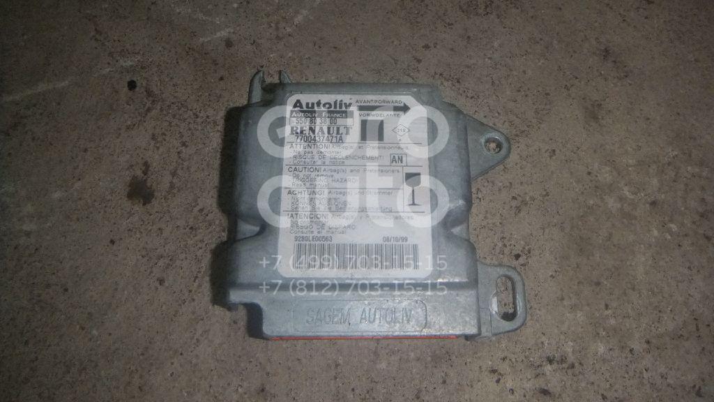 Блок управления AIR BAG для Renault Scenic 1999-2002;Megane I 1996-1999;Scenic RX 2000>;Scenic 1996-1999 - Фото №1