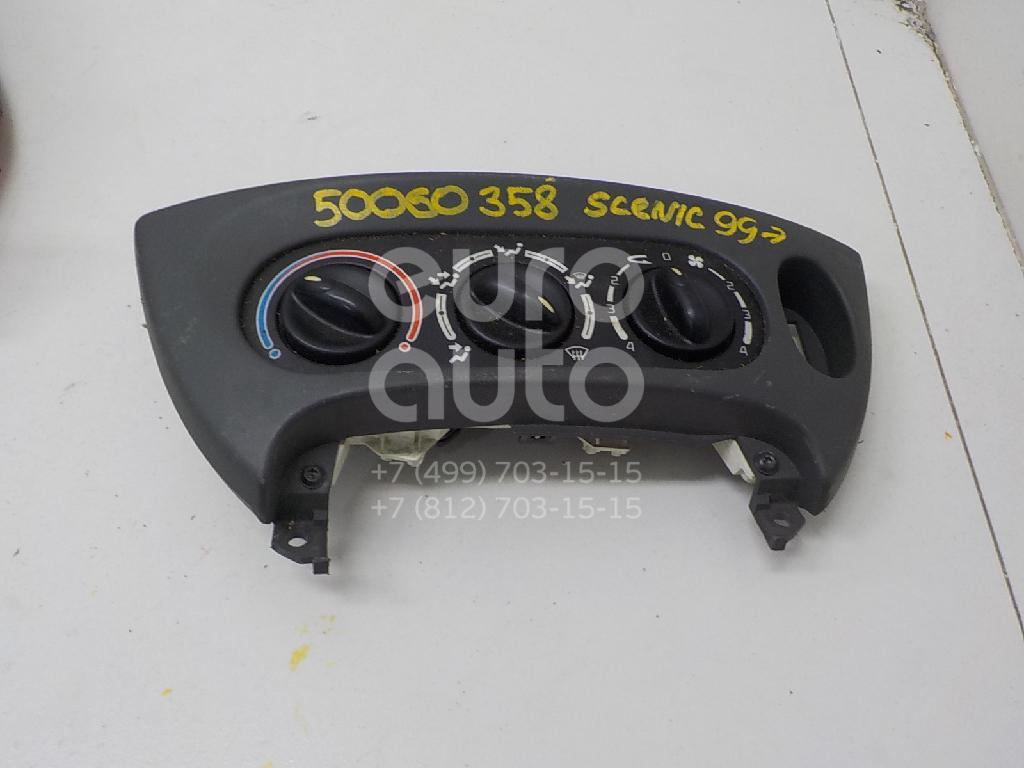 Блок управления отопителем для Renault Scenic 1999-2003 - Фото №1