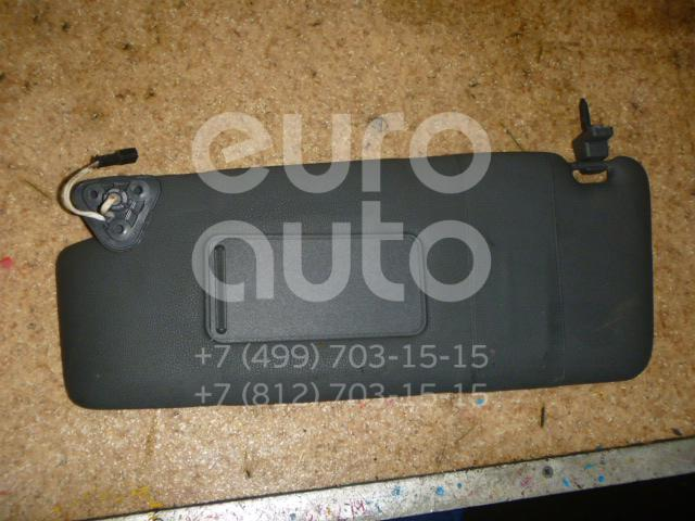 Козырек солнцезащитный (внутри) для BMW X3 E83 2004-2010 - Фото №1