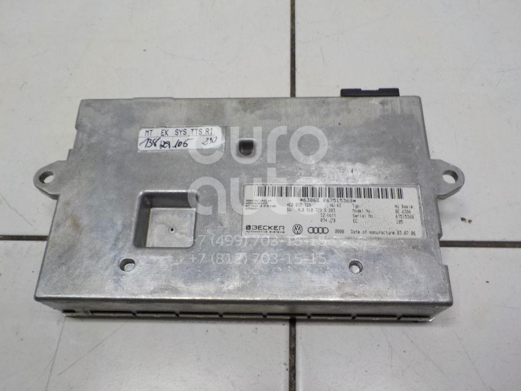 Купить Блок электронный Audi Q7 [4L] 2005-2015; (4E0035729)
